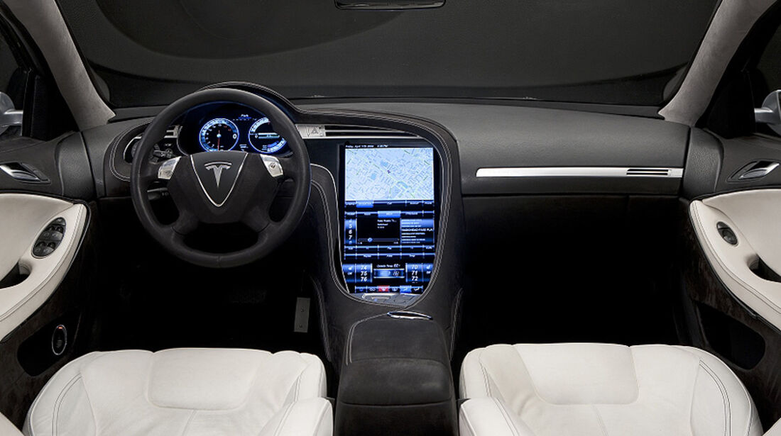 Tesla Model S, Innenraum