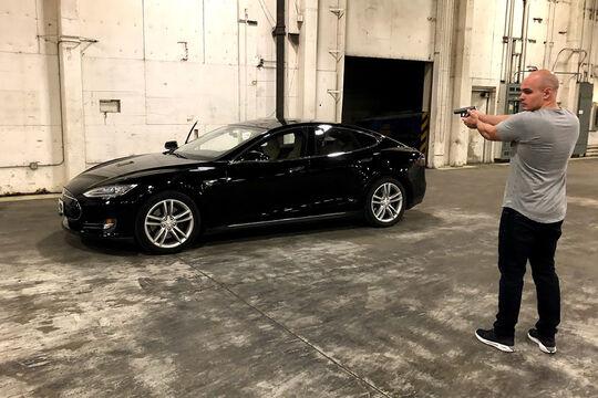 Tesla Model S gepanzert von Armormax