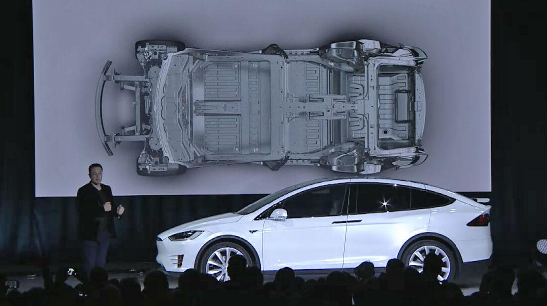 Tesla Model X Präsentation