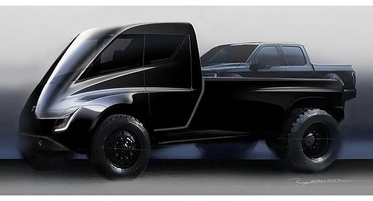 tesla plant einen elektrischen pick up auto motor und sport. Black Bedroom Furniture Sets. Home Design Ideas