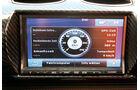 Tesla Roadster, Fahrdaten, Monitor