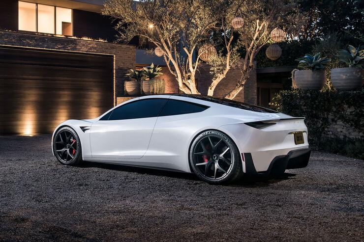 neuer tesla roadster 400 km h spitze markstart 2020. Black Bedroom Furniture Sets. Home Design Ideas