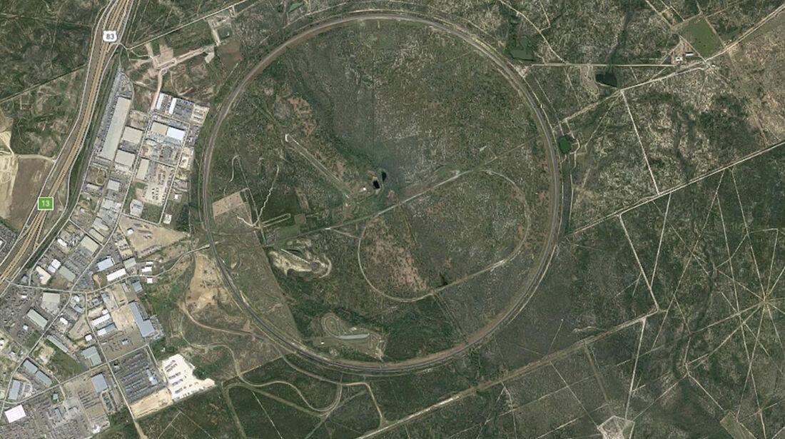 Teststrecke, MBTech Laredo/Texas