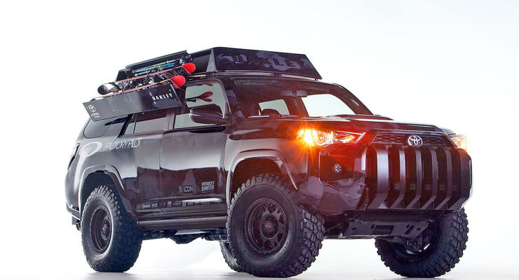 The Ultimate Dream Ski 4Runner SEMA 2013
