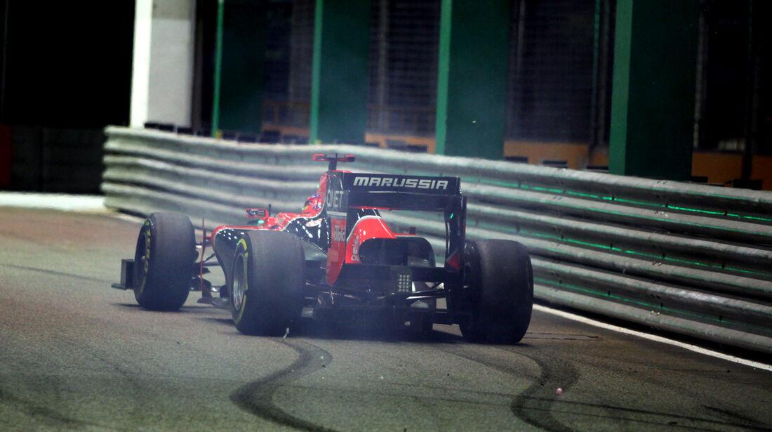 Timo Glock F1 Singapur 2012