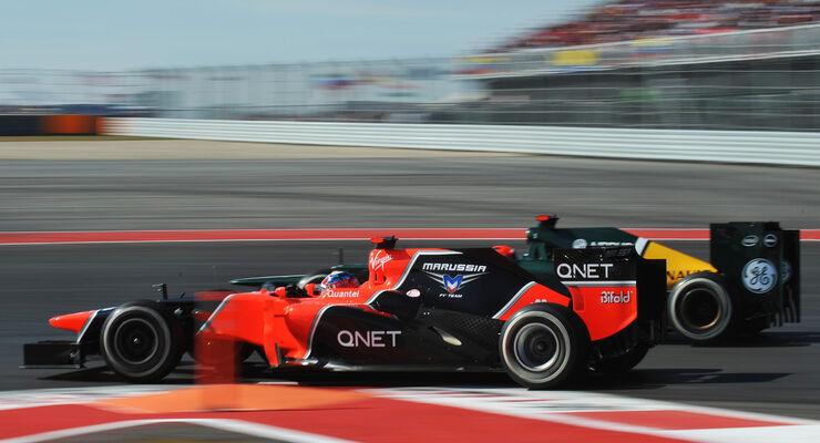 Timo Glock Formel 1 Austin GP USA 2012