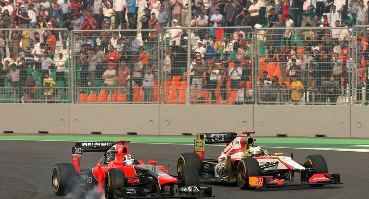 Timo Glock GP Indien 2012