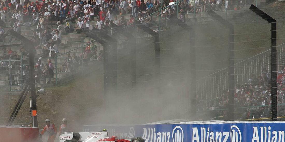 Timo Glock Suzuka Crash