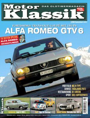 Titel Motor Klassik, Heft 03/2005