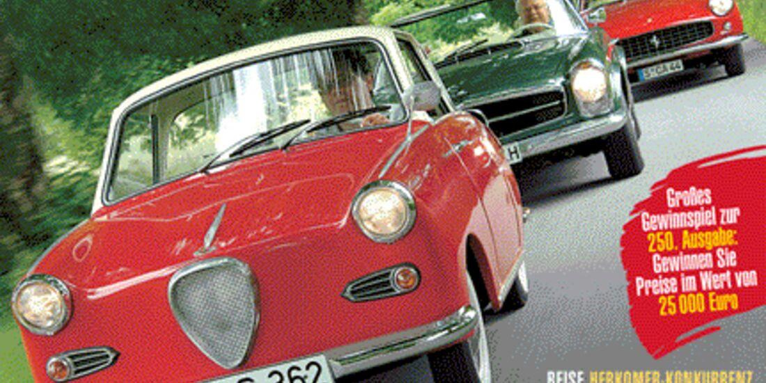 Titel Motor Klassik, Heft 08/2005