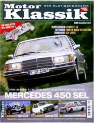 Titel Motor Klassik, Heft 09/2005