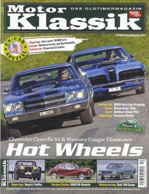Titel Motor Klassik, Heft 10/2008
