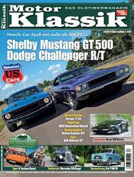 Titel Motor Klassik, Heft 10/2010