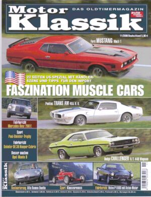 Titel Motor Klassik, Heft 11/2006