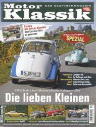 Titel Motor Klassik, Heft 12/2008