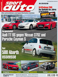 Titel Sport Auto, Heft 09/2009