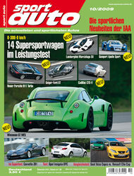 Titel Sport Auto, Heft 10/2009