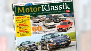 Titelseite Motor Klassik 08/2015
