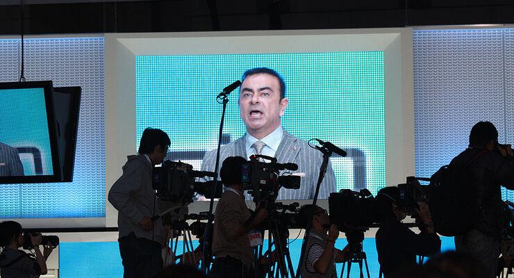 Tokio Motor Show 2011, Renault-Nissan-Chef Carlos Ghosn