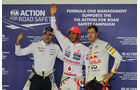 Top 3 - Formel 1 - GP Singapur - 22. September 2012