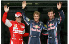 Top 3 Qualifying - Alonso, Vettel & Webber - GP Ungarn 2010