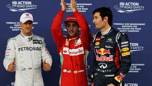 Top 3 Qualifying GP England 2012