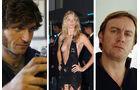 Top Gear Moderatoren Philip Glenister, Jodie Kidd, Guy Martin