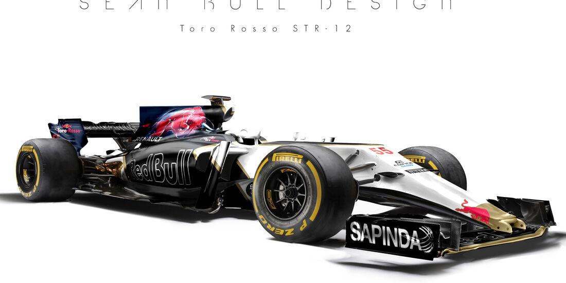 Toro Rosso - F1-Designs 2017 - Sean Bull - Formel 1