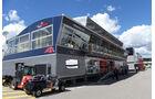 Toro Rosso - F1 - Motorhome - GP Spanien 2016 - Barcelona