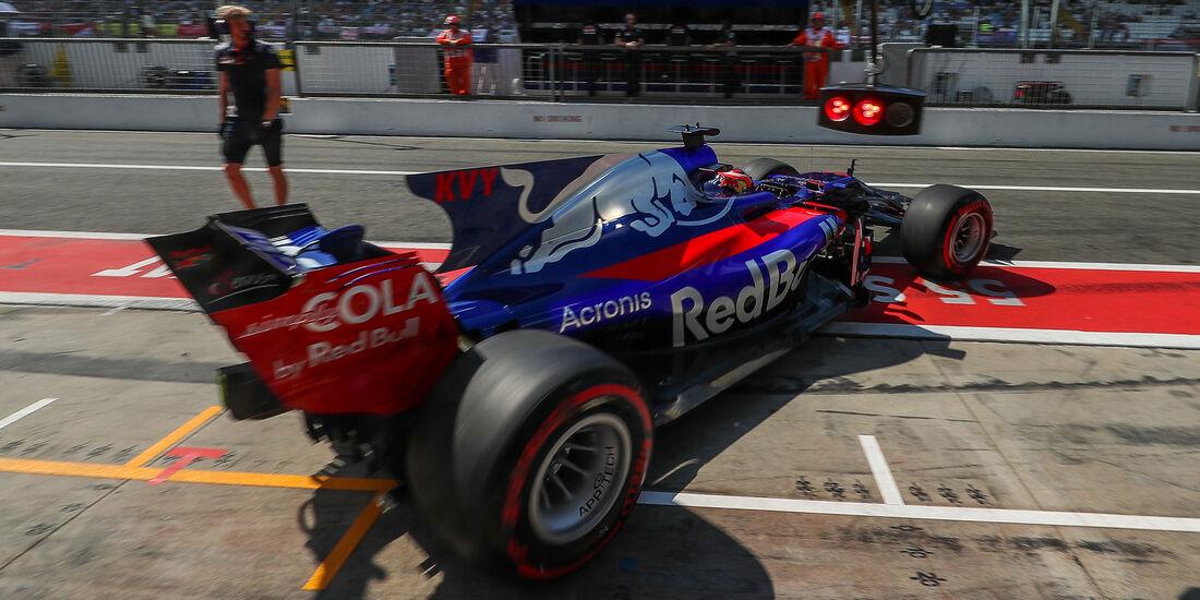 Toro Rosso - Formcheck - GP Italien 2017