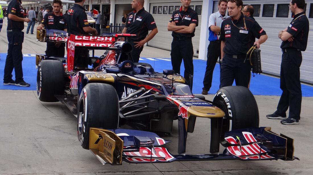 Toro Rosso - Formel 1 - Budapest - GP Ungarn - 26. Juli 2012