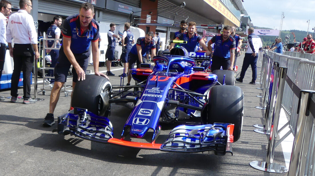 Toro Rosso - Formel 1 - GP Belgien - Spa-Francorchamps - 23. August 2018