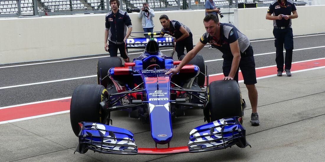 Toro Rosso - Formel 1 - GP Japan - Suzuka - 5. Oktober 2017
