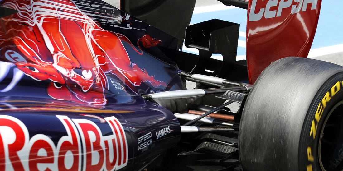 Toro Rosso Formel 1 Technik GP Spanien 2012