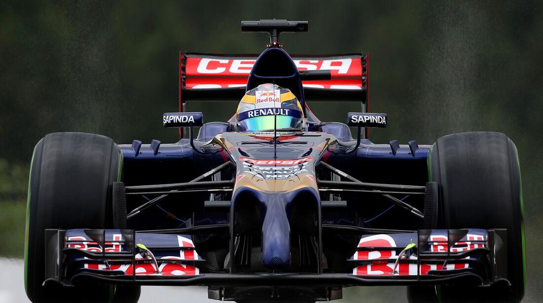 Toro Rosso - GP Belgien 2014