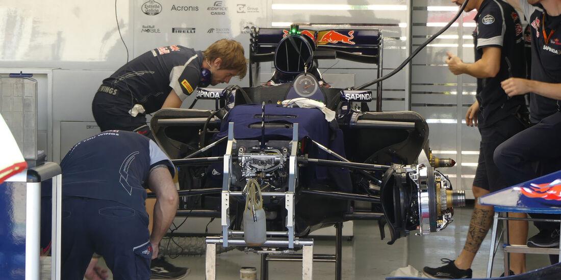 Toro Rosso - GP Brasilien - Sao Paulo - Interlagos - Donnerstag - 10.11.2016
