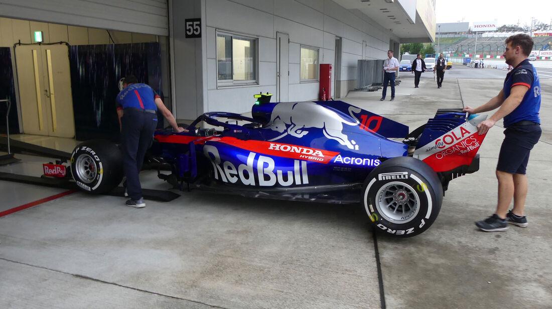 Toro Rosso - GP Japan - Suzuka - Donnerstag - 4.10.2018