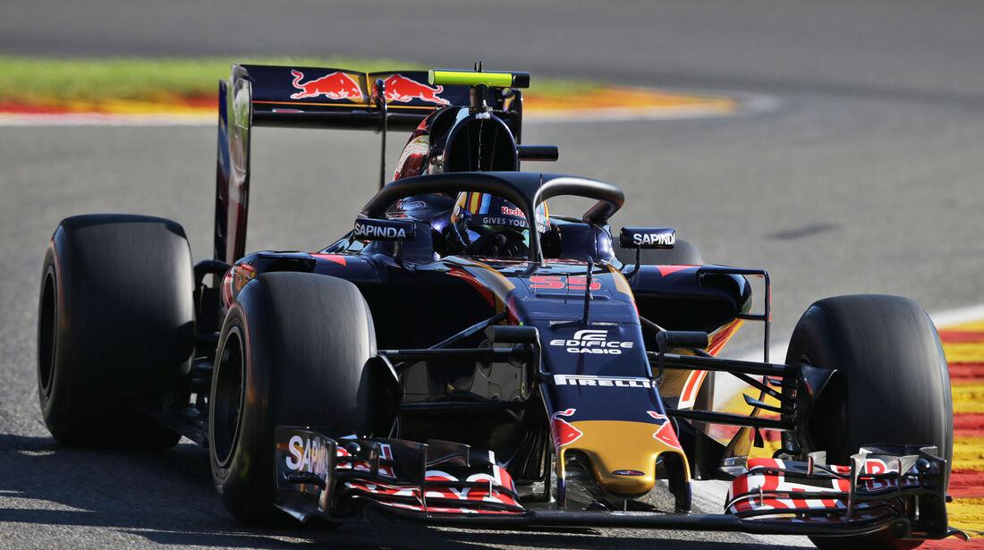 Toro Rosso - Halo-Test - Formel 1 - 2016
