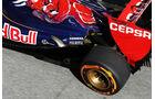 Toro Rosso STR8 Auspuff F1 2013