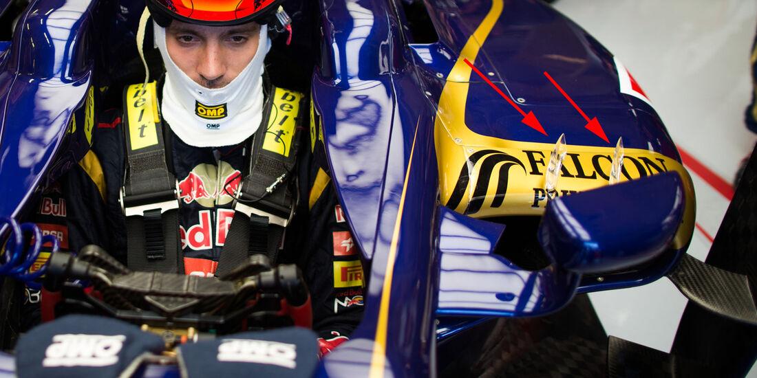 Toro Rosso - Technik - GP Ungarn 2013