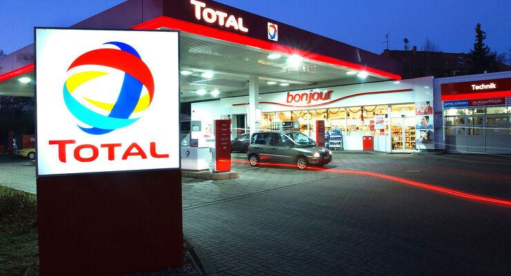 Total Tankstelle