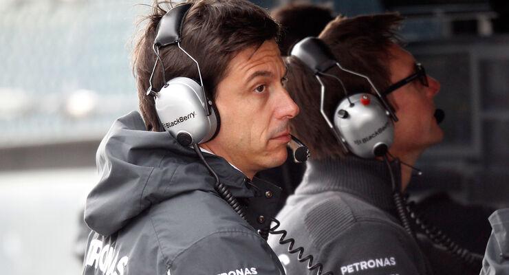 Toto Wolff - GP Belgien 2014