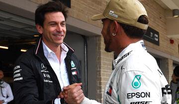 Toto Wolff & Lewis Hamilton - Formel 1 - GP USA - Austin - 20. Oktober 2018