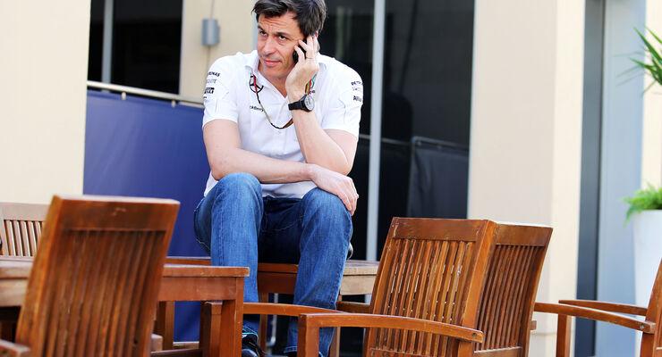 Toto Wolff - Mercedes - Formel 1 - GP Abu Dhabi - 20. November 2014