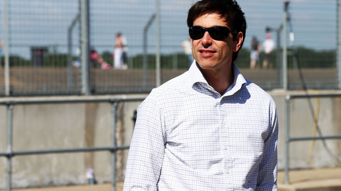 Toto Wolff - Mercedes - Young Drivers Test - Silverstone - 19. Juli 2013