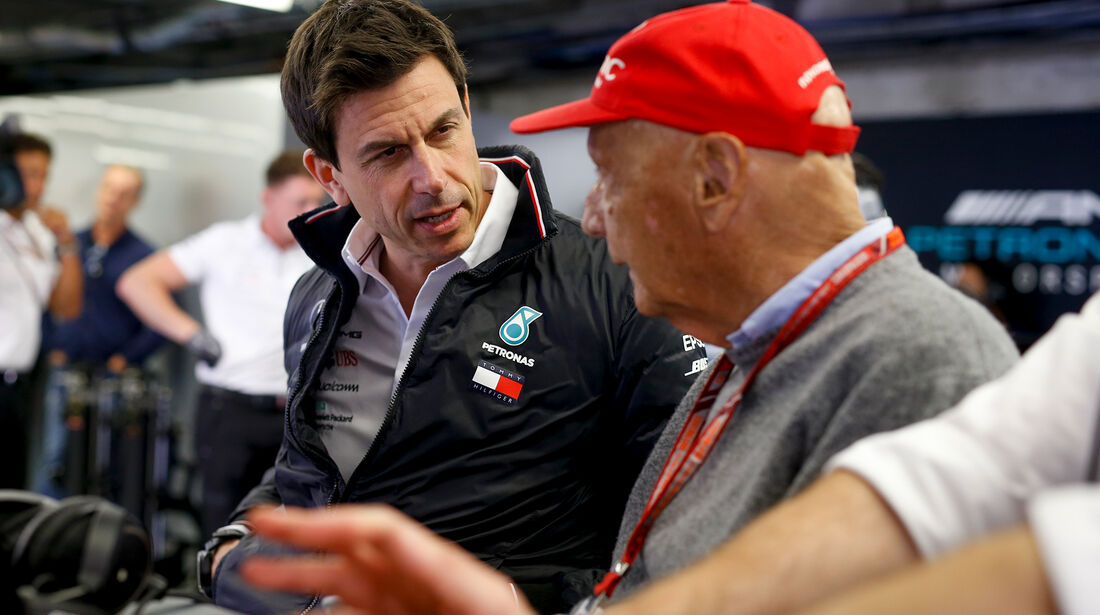 Toto Wolff & Niki Lauda - Formel 1 - GP Kanada 2018
