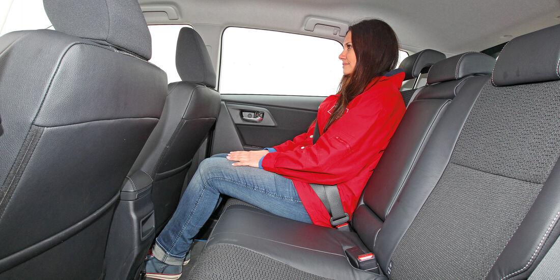 Toyota Auris 1.8 VVT-i HSD Executive, Kofferraum