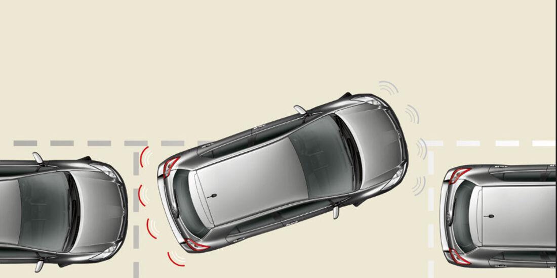 Toyota Auris, Einparkhilfe