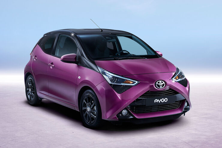 toyota aygo 2018 daten infos marktstart preis auto. Black Bedroom Furniture Sets. Home Design Ideas