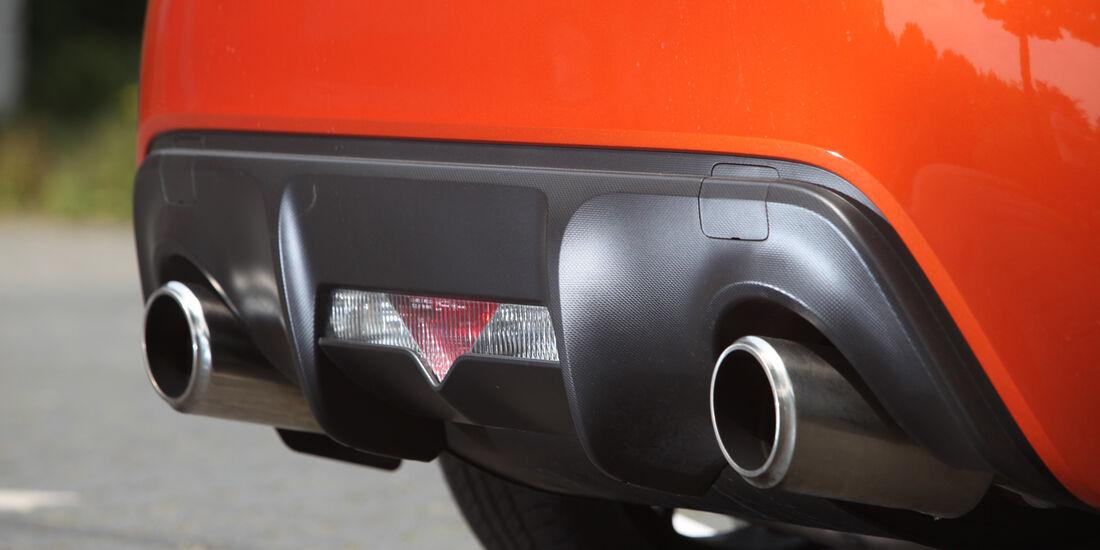 Toyota GT 86, Endrohre, Auspuff
